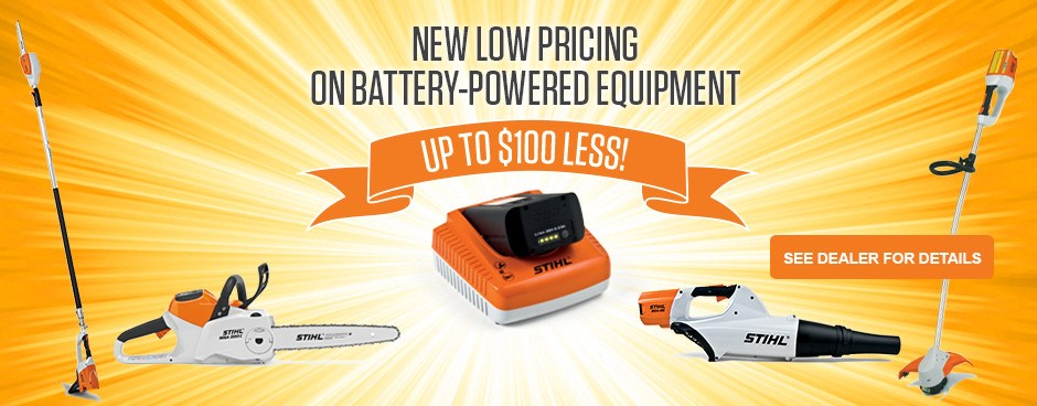 New Low Price on Battery Power!